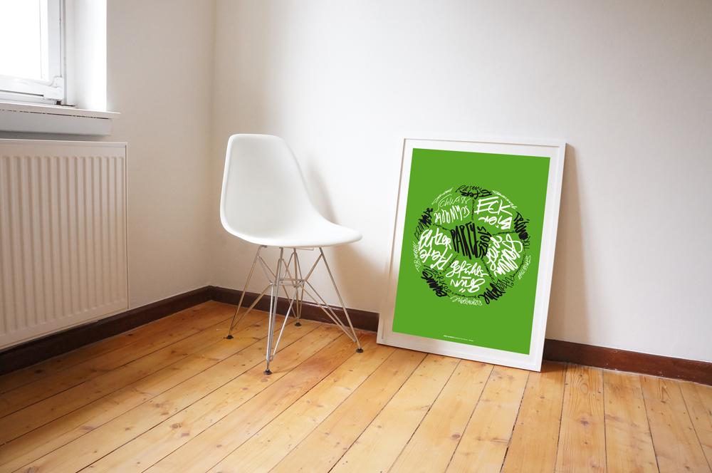 Nicht der Rasen ist schön grün – auch die Fussball-Edition zur WM!