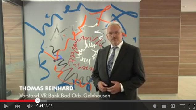 Thomas Reinhard, Vorstand VR Bank Bad Orb-Gelnhausen