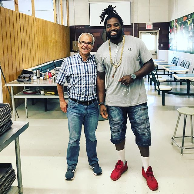 My high school culinary teacher and mentor is retiring after many years of educating & 1000's of kids served! He is an founding piece of my professional success.  On JULY 18th, myself and a group of former students will be honoring him with the final event in the #chefabouttown dinner series! If you know 'Smitty', are a former student, a colleague or parent, join us on that evening to celebrate him. **Tickets are available** #soulyve #chefabouttown  #yis