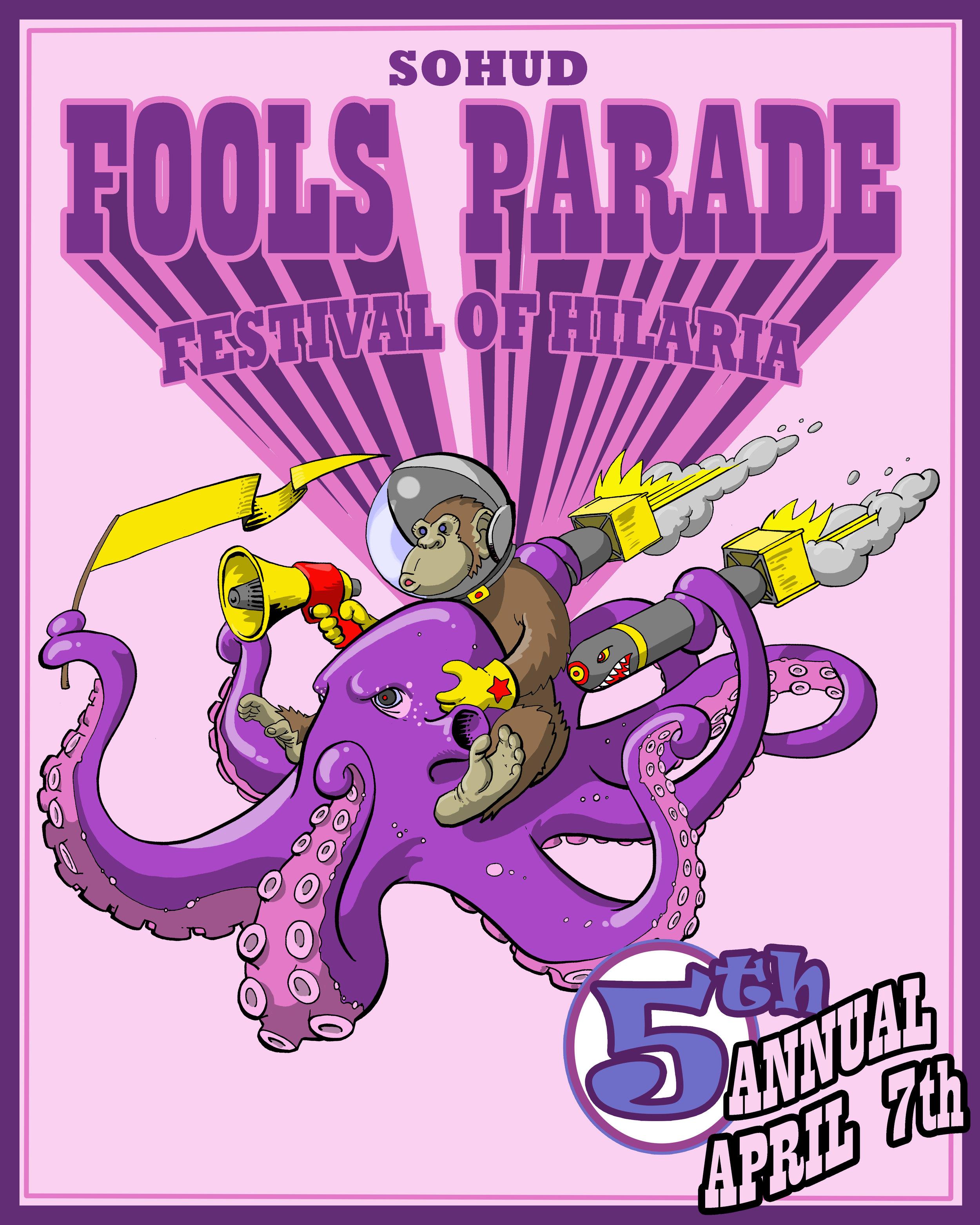 Fools' Parade 2018