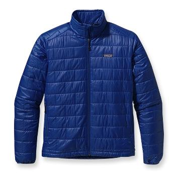 Patagonia Nano Puff Jacket - 179.00   I have put off getting a down jacket for years. I liked the warmth but they always seemed bulky and expensive. This christmas my parents bought me a patagonia nano puff jacket for christmas and I am now left wondering why I waited so long to get one of these. I choose a synthetic fill over a down jacket largely because it is so wet here in the Pacific NW, the synthetic fill  should  stay warm even after a soaking in the rain. The jacket is far warmer than its 354g (12.5oz) has any right to be. The frst time I wore it on my walk to work I was pleasantly surprised at the microclimate that seemed to have set up shop around my body. I have yet to really put this to the test but it seems pretty comfortable with just a t-shirt underneath down to near freezng temperatures.   You can get one here -  Patagonia