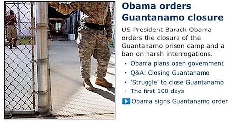 It is great to see headlines of a US president doing the right thing. It has been eight very long years.