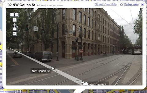 Google Maps has Street View for Portland.
