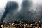 A quick post before I sleep, there is a very interesting discussion here about the obvious photoshop work in this Reuters photograph of Beirut.  It has clearly been doctored to make the damage more dramatic. The whole situation in Lebanon is terrible, but inaccurate reporting certainly won't help.   lgf: Reuters Doctoring Photos from Beirut?: