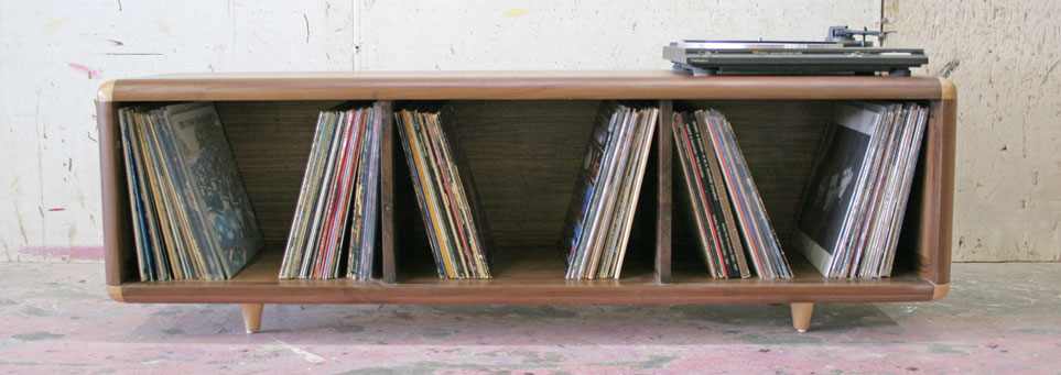 STACKS  VINYL RECORD STORAGE CONSOLE