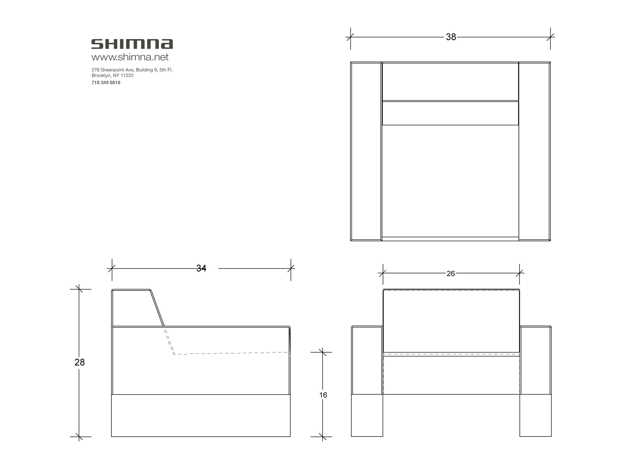 Plan Dimensional Drawing
