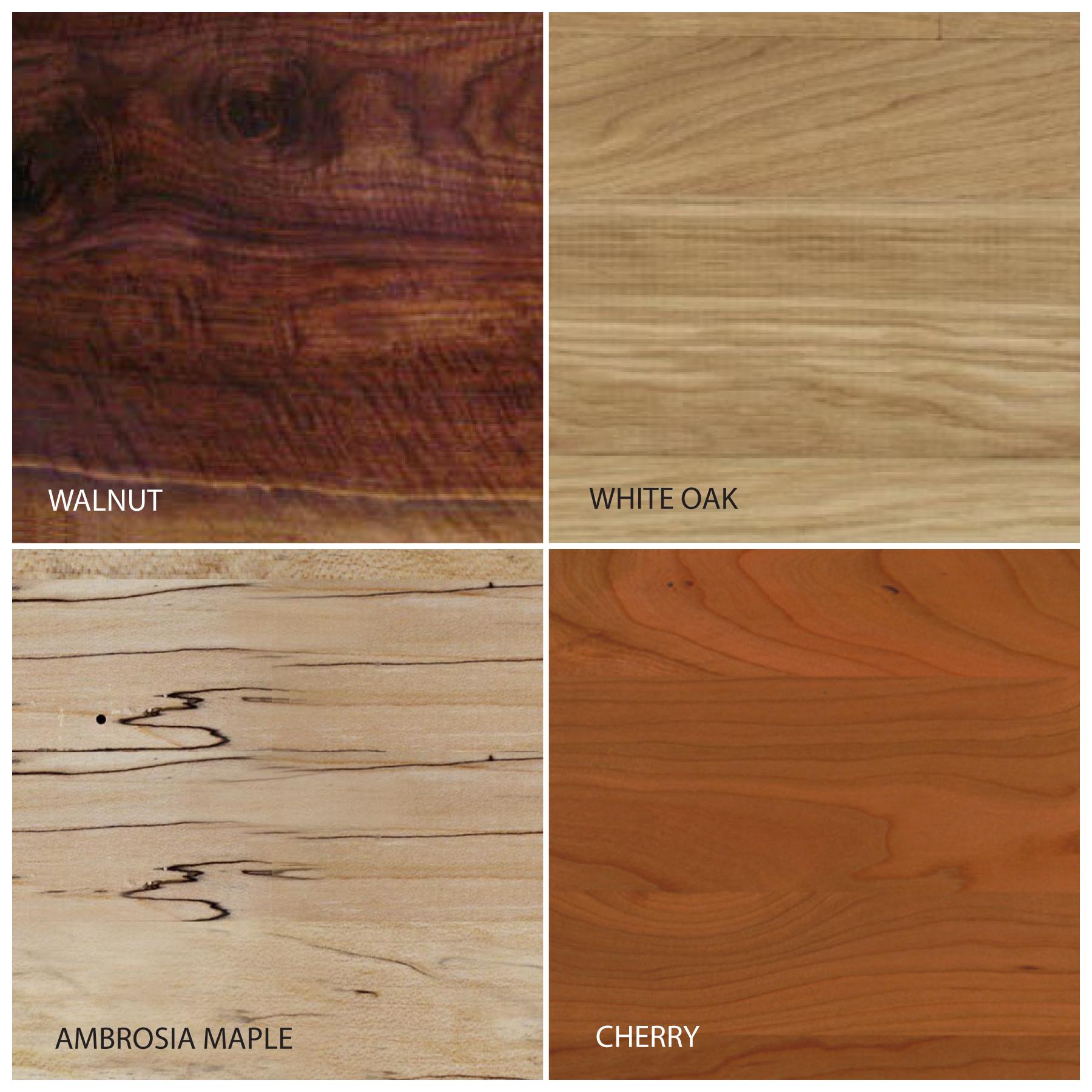 Wood Species Options