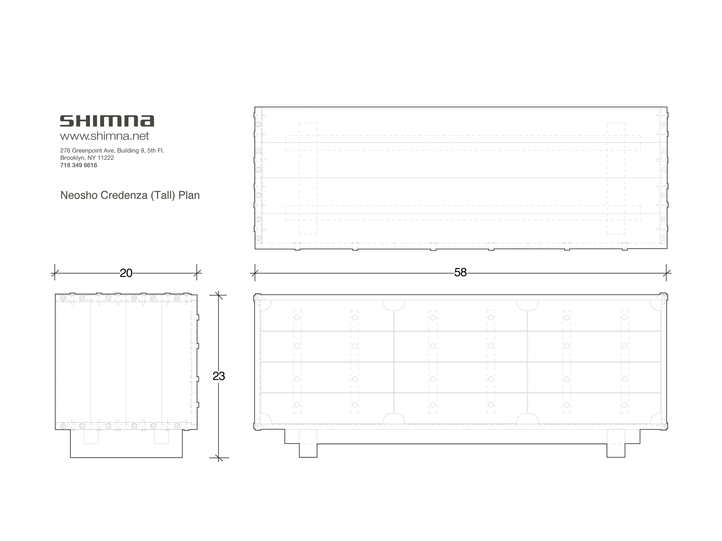 Dimensional Plan Drawing