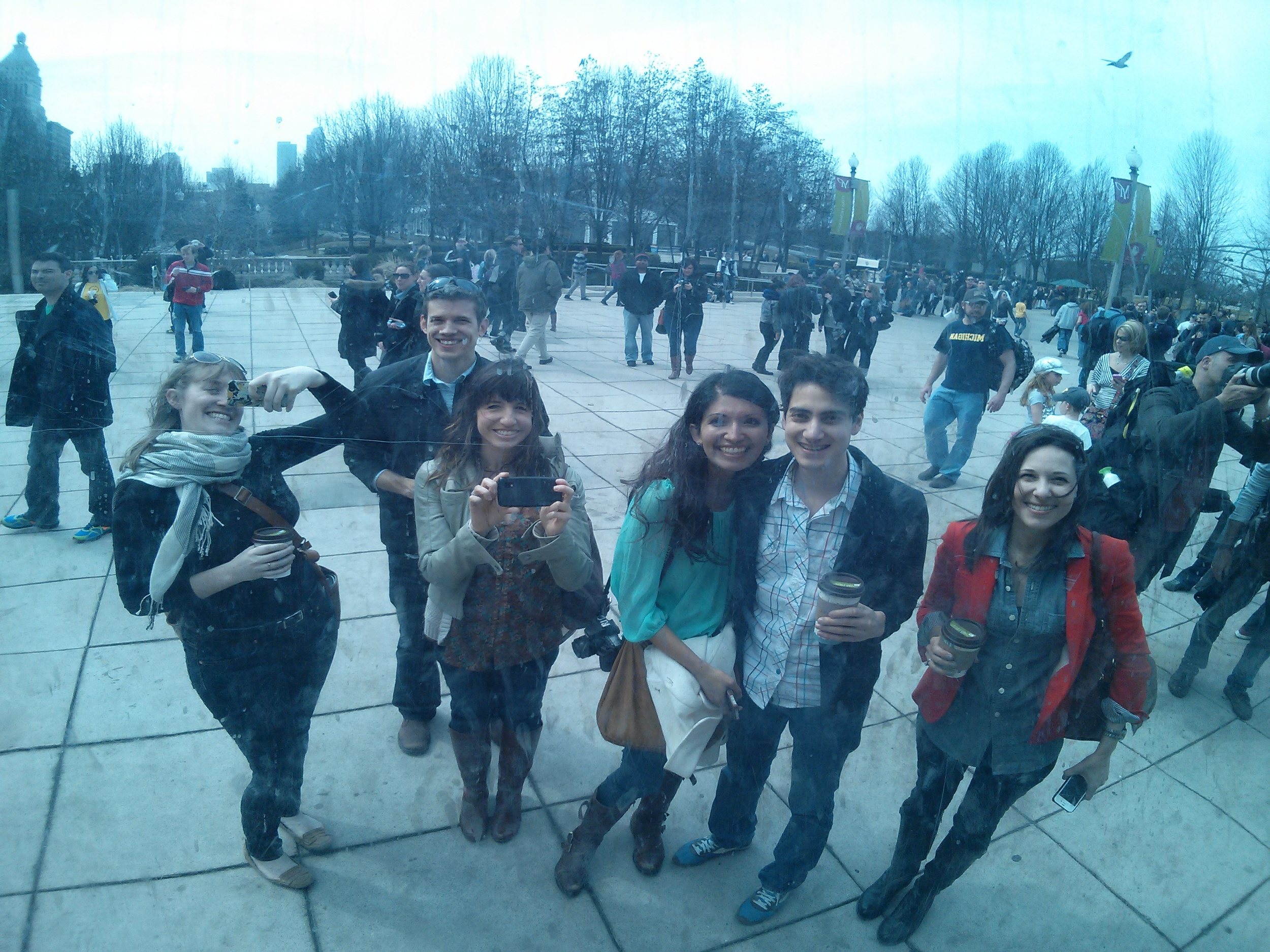 Bloggers at the Bean.jpg