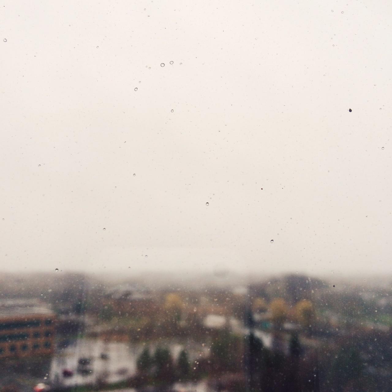 A little bit of rain, a little bit of snow.