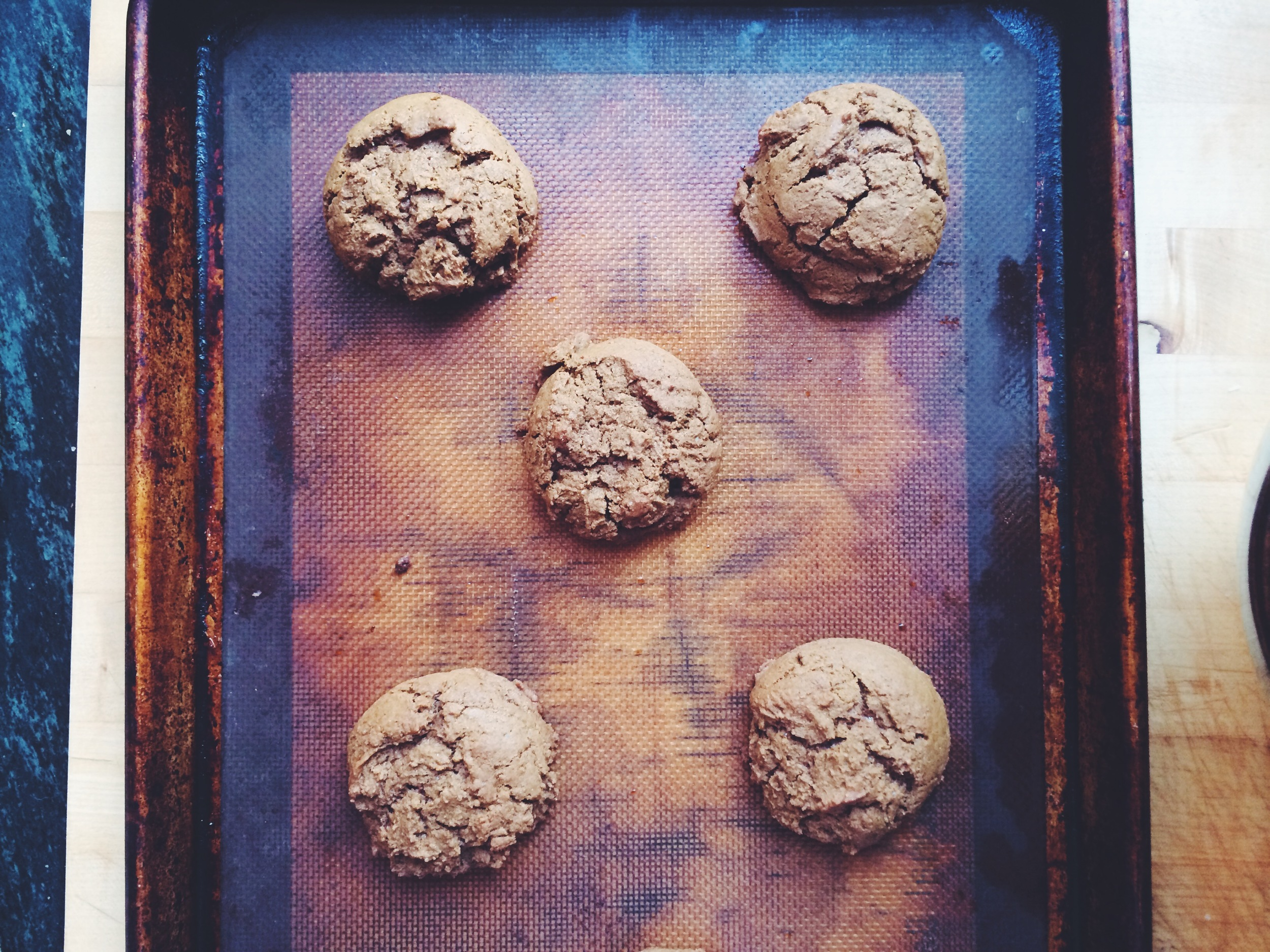 Amy's Ginger Cookies from Third Thursday Community Potluck Cookbook