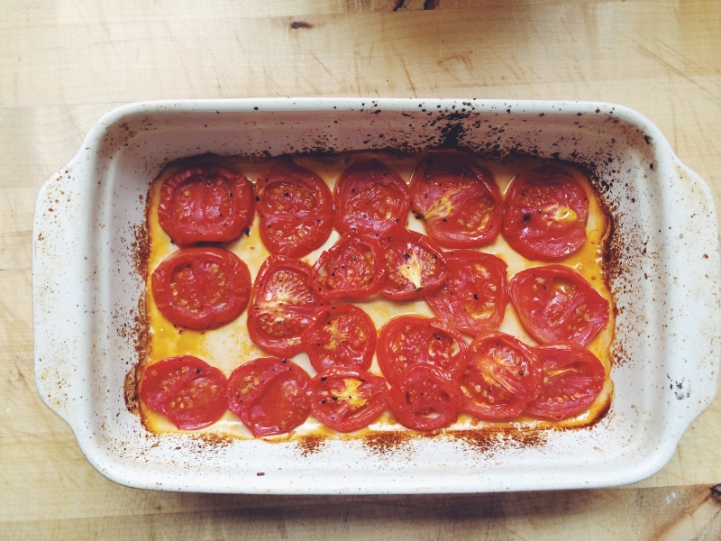 roasted Tomato Tartine | Eat This Poem