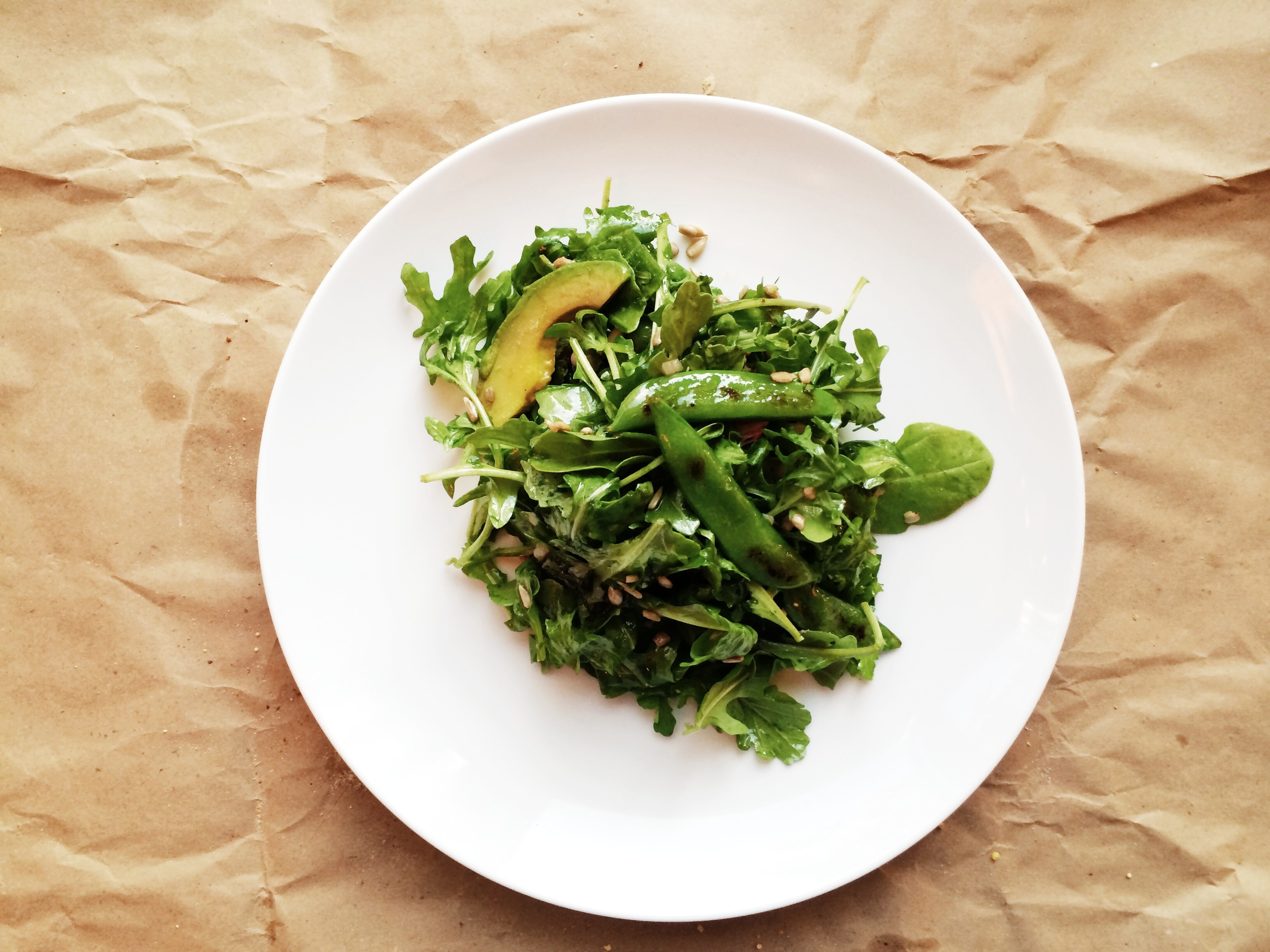 Pea and Arugula Salad | Eat This Poem