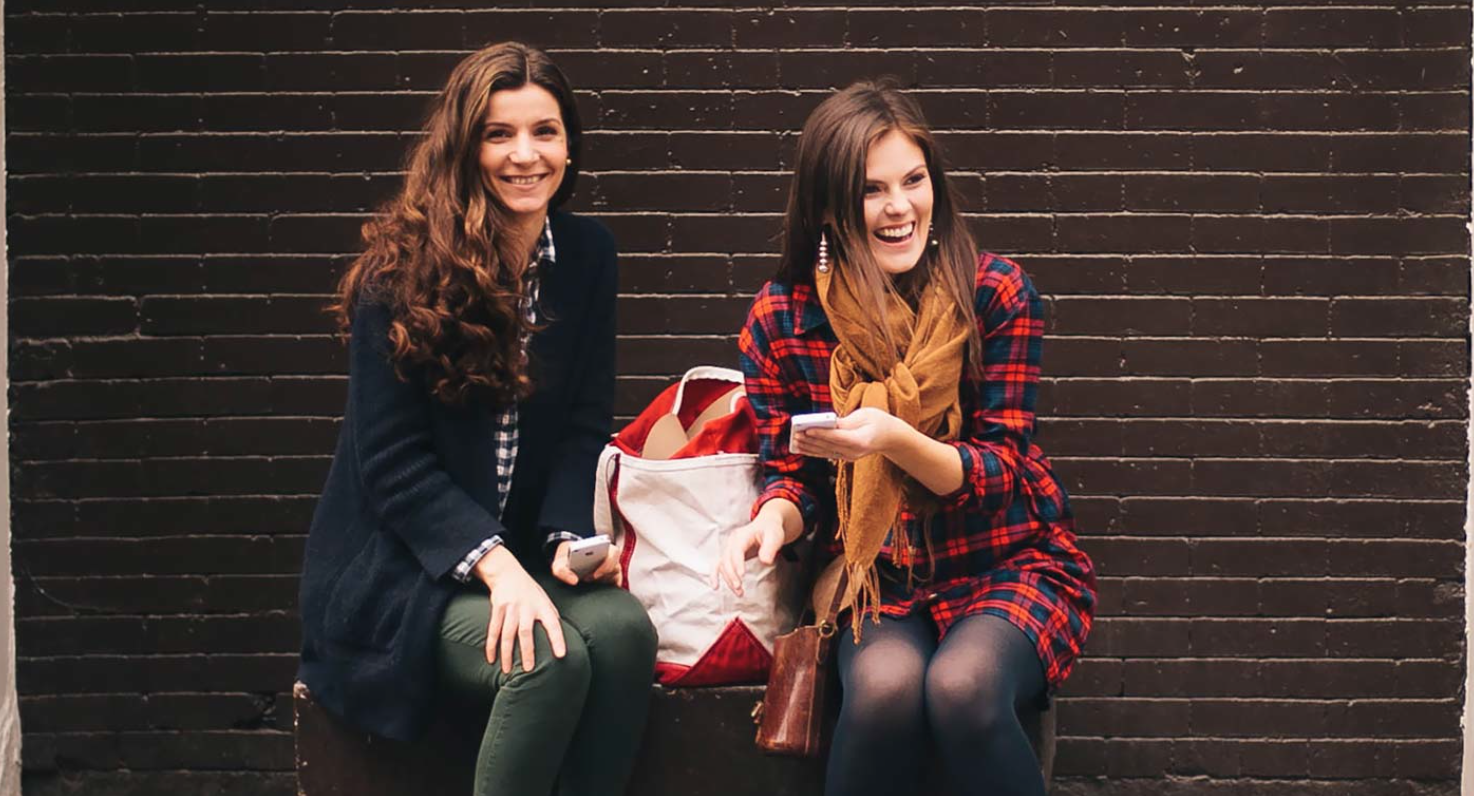 Christine & Anca,  Huckle & Goose  Founders