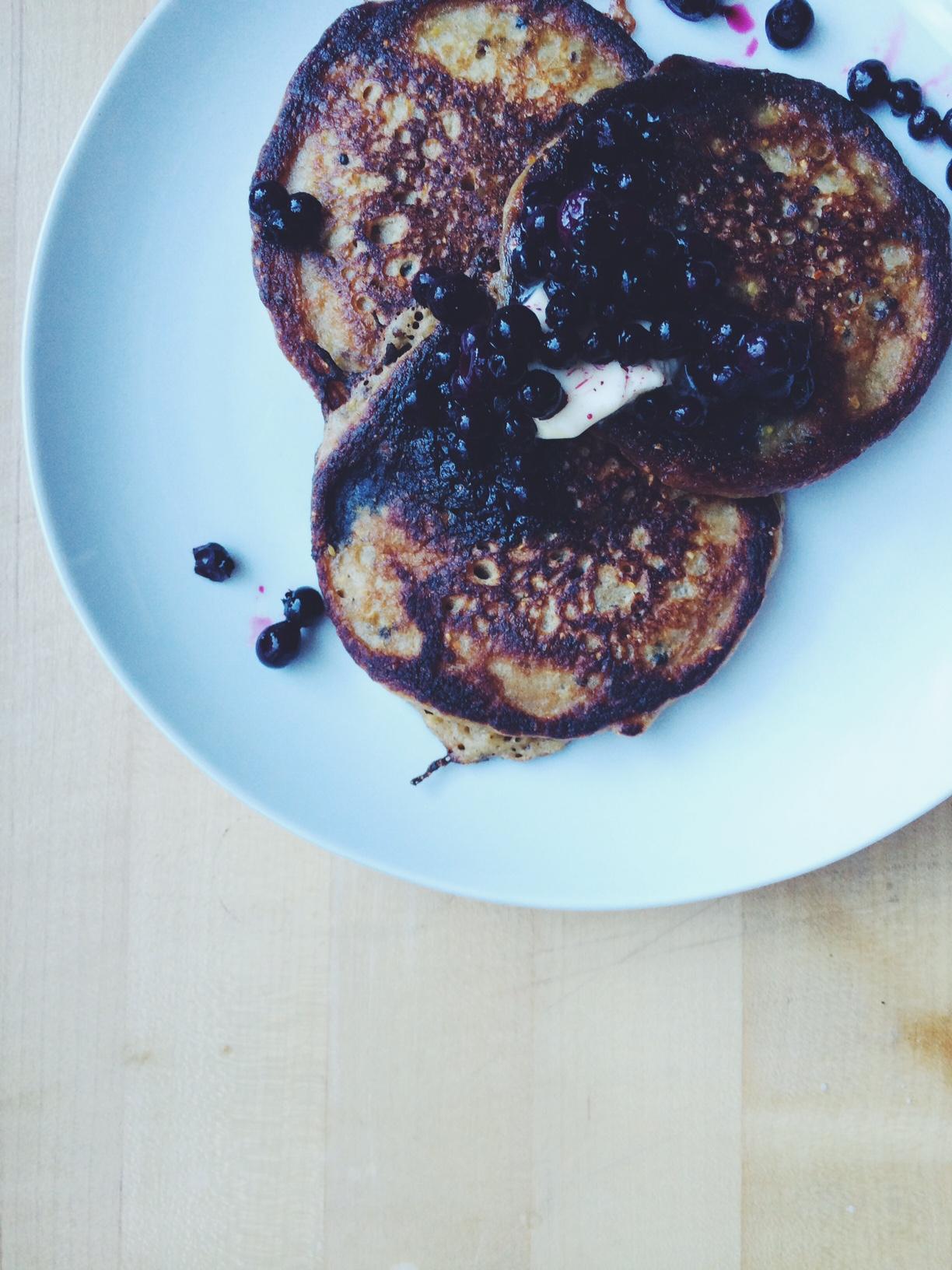Zoe Nathan's Quinoa Pancakes / Eat This Poem