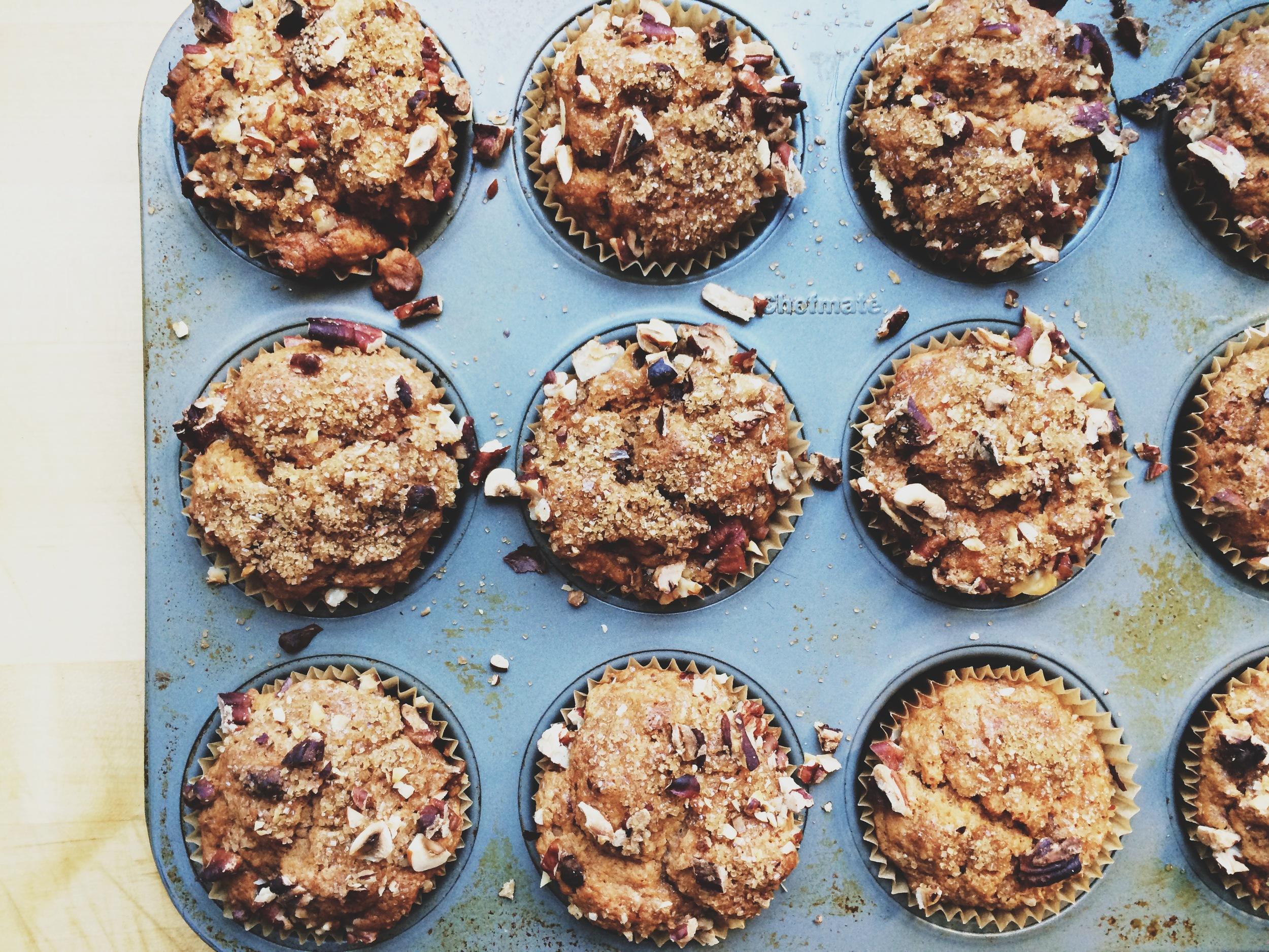 Sweet Potato Muffins | Eat This Poem