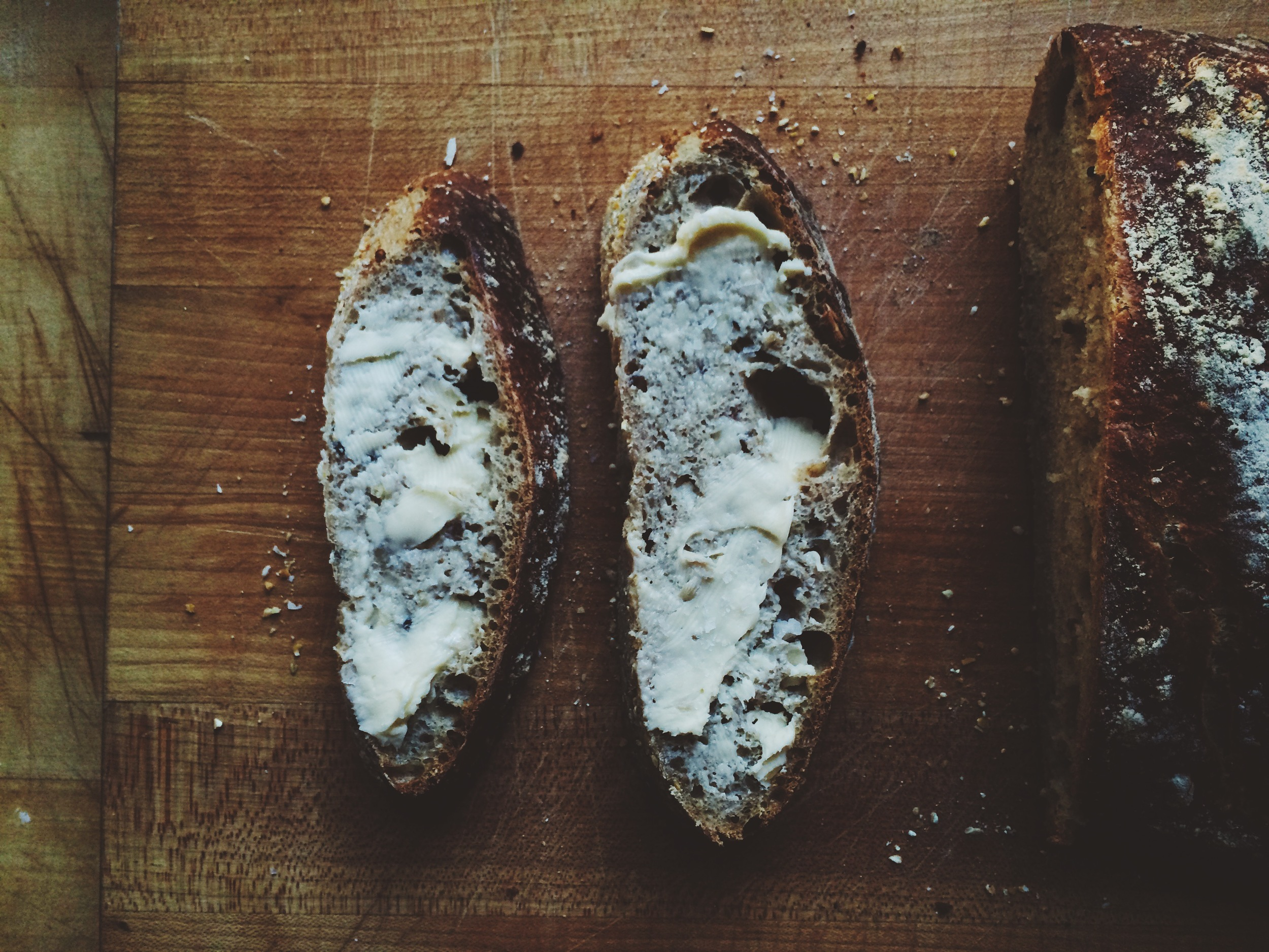 Homemade Whole Grain Bread | Eat This Poem