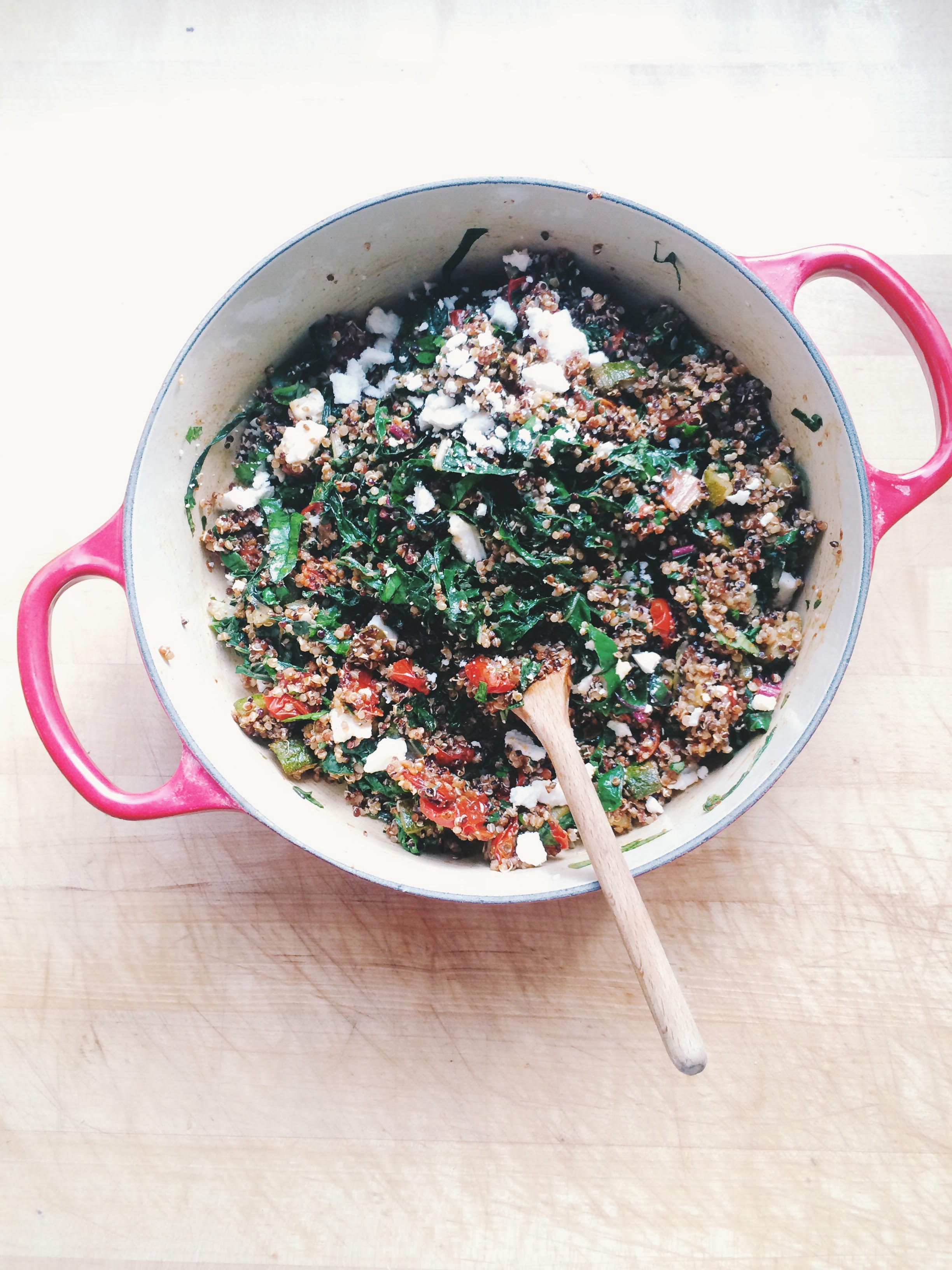 Quinoa Salad with Homemade Harissa | Eat This Poem