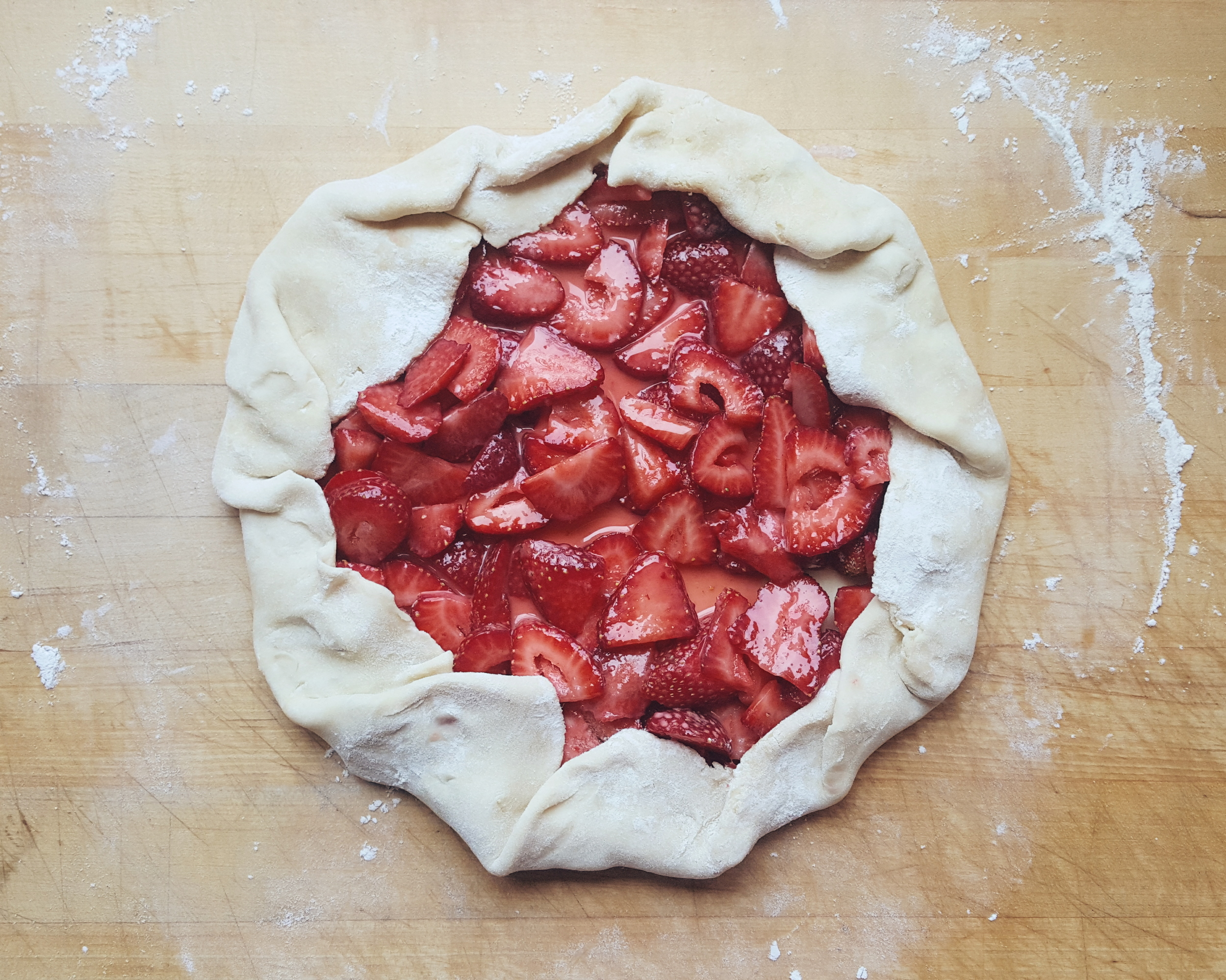 Strawberry Galette from Eat This Poem