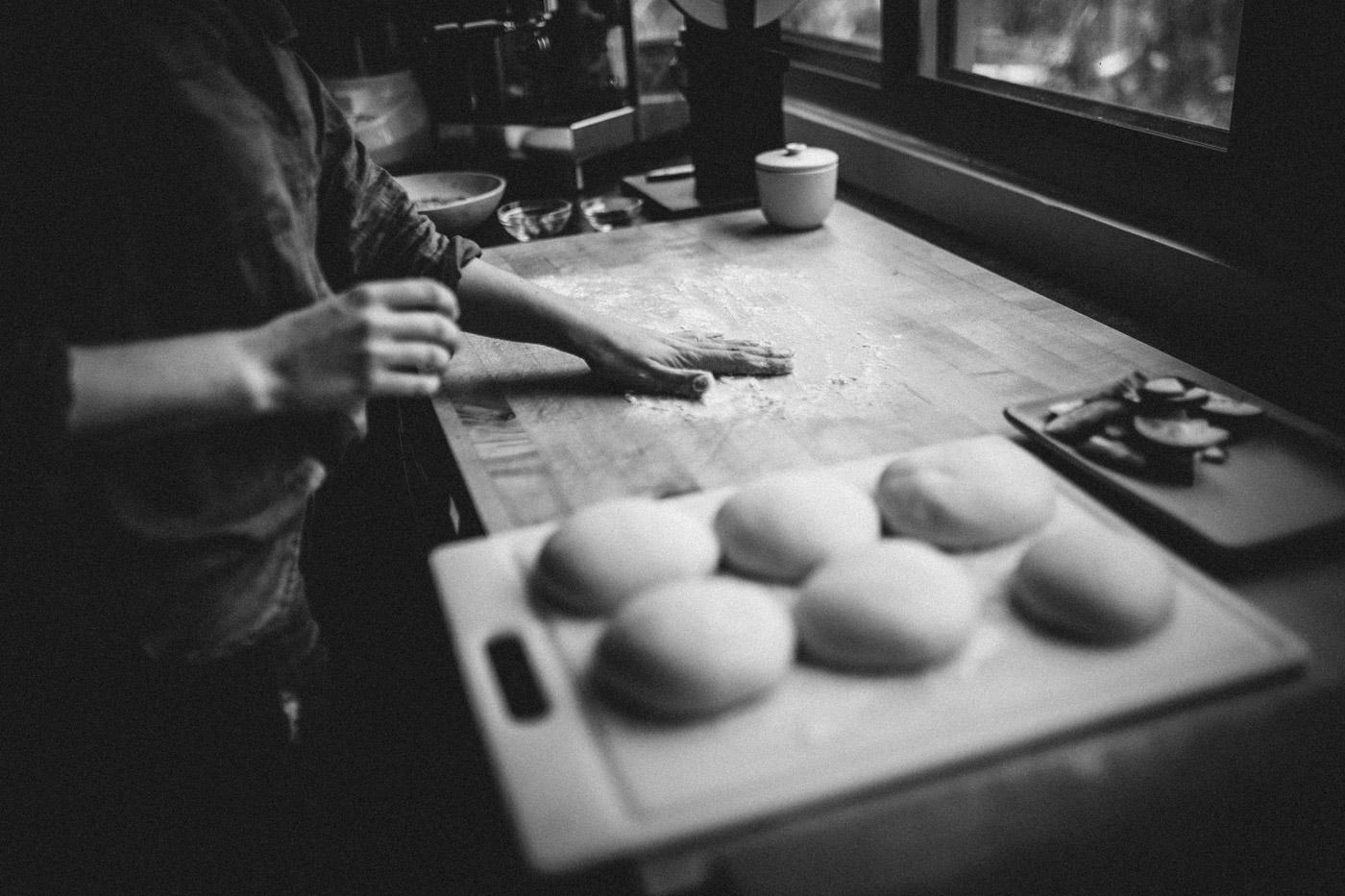 Garlic and sumac flatbread
