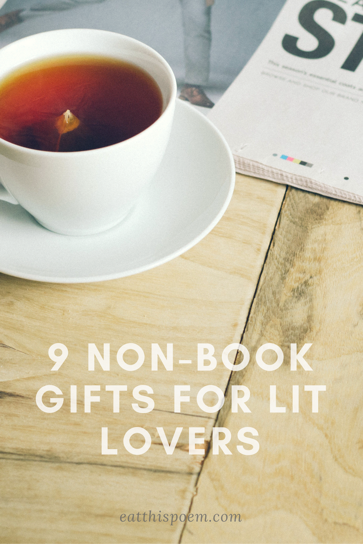 9 Non-Book Gifts for Literature Lovers