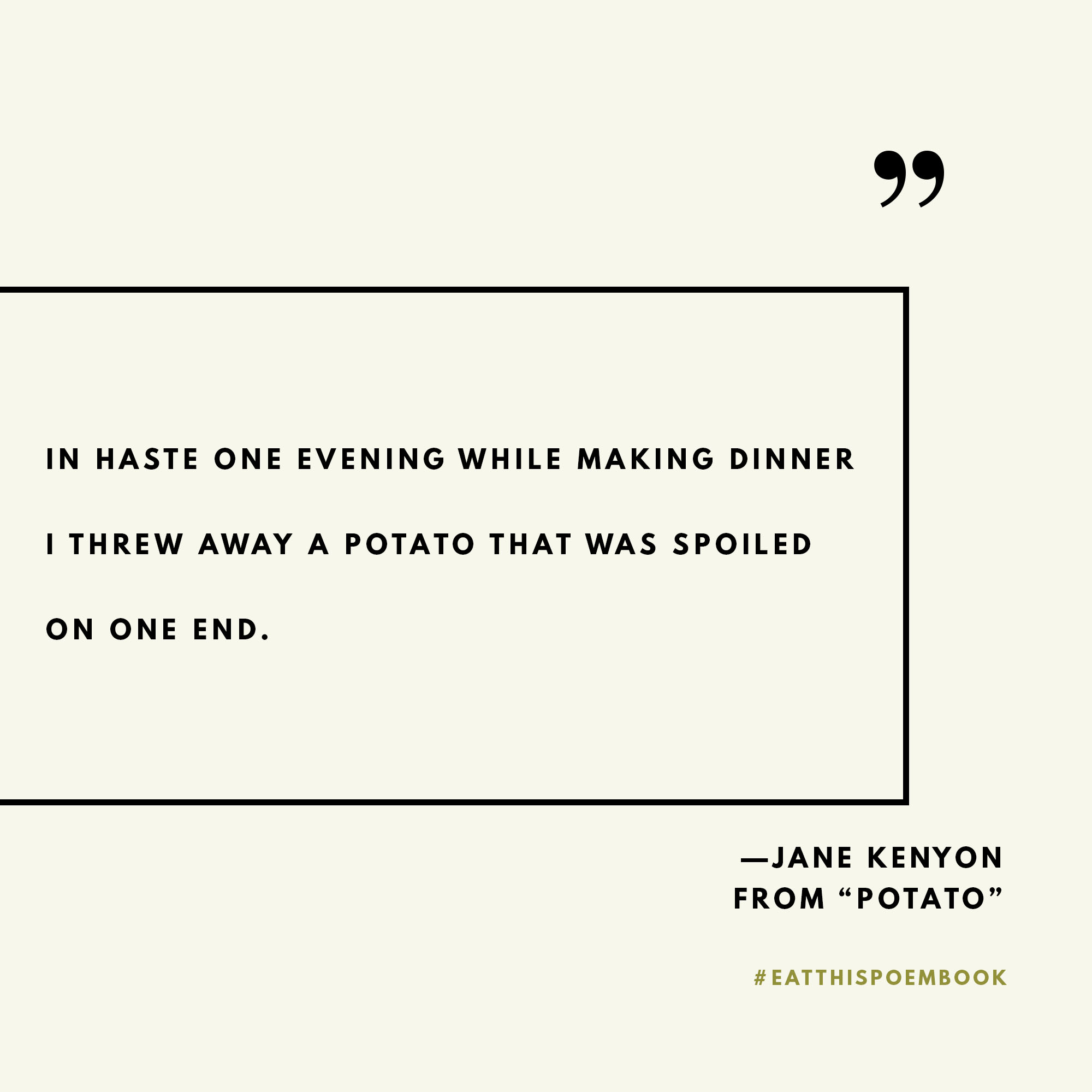 Celebrating National Poetry Month with the Eat This Poem cookbook