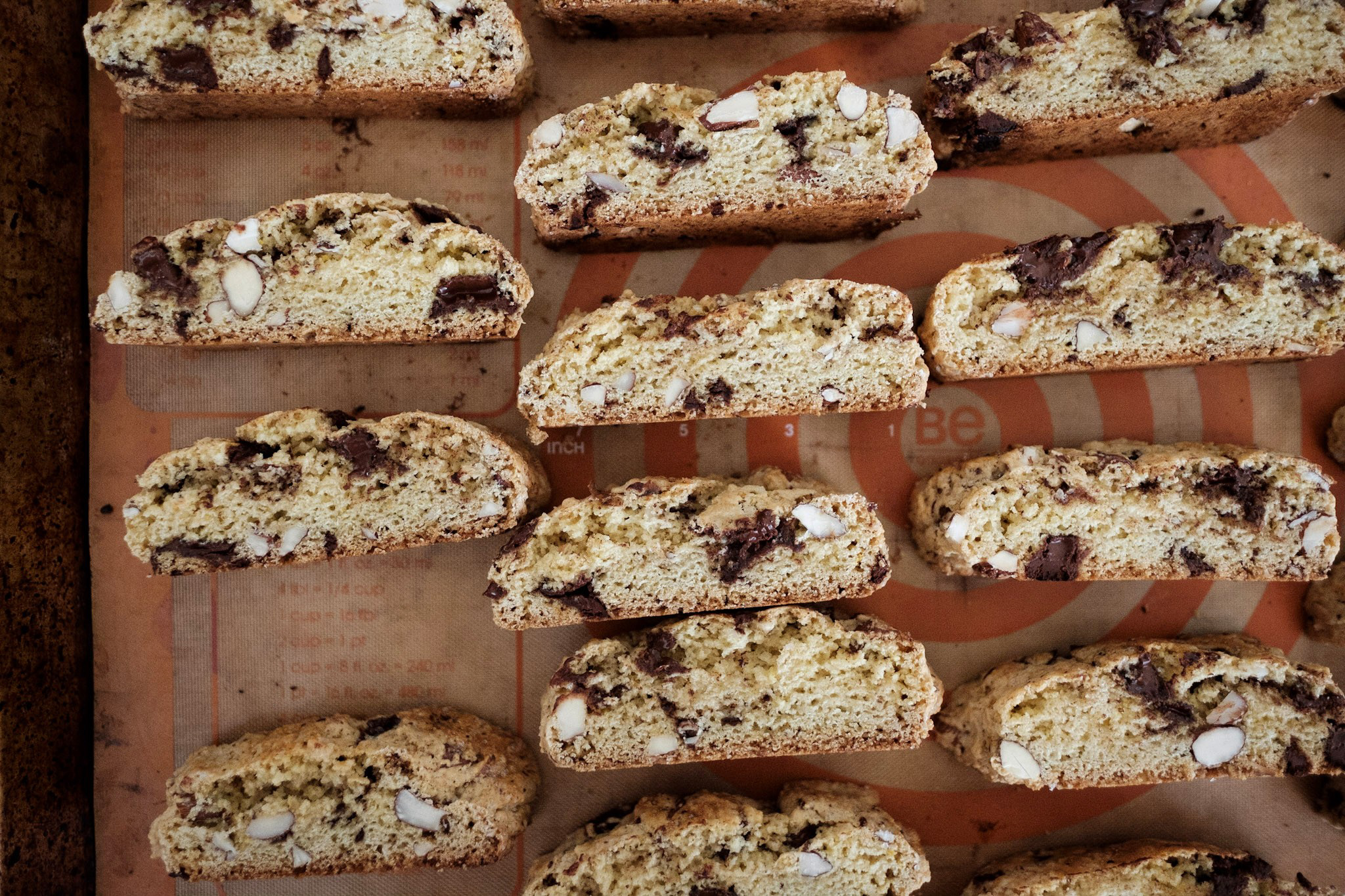 Chocolate and Almond Biscotti | Eat This Poem