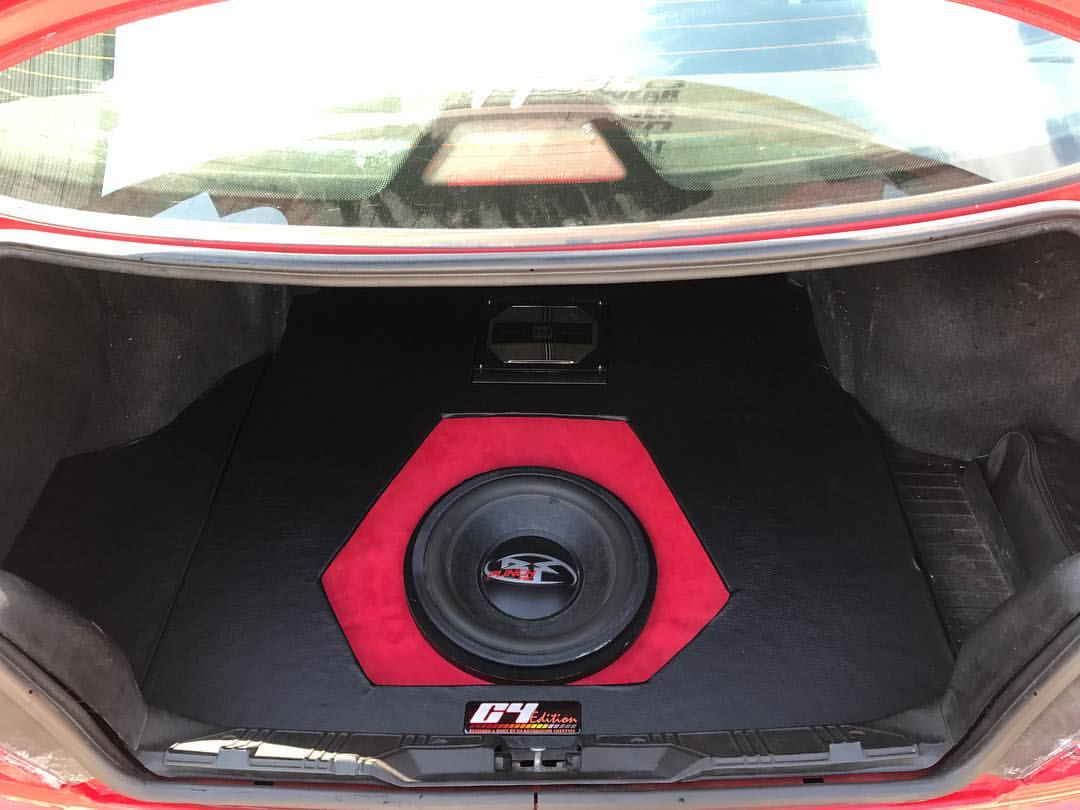 RED Custom Trunk Audio System