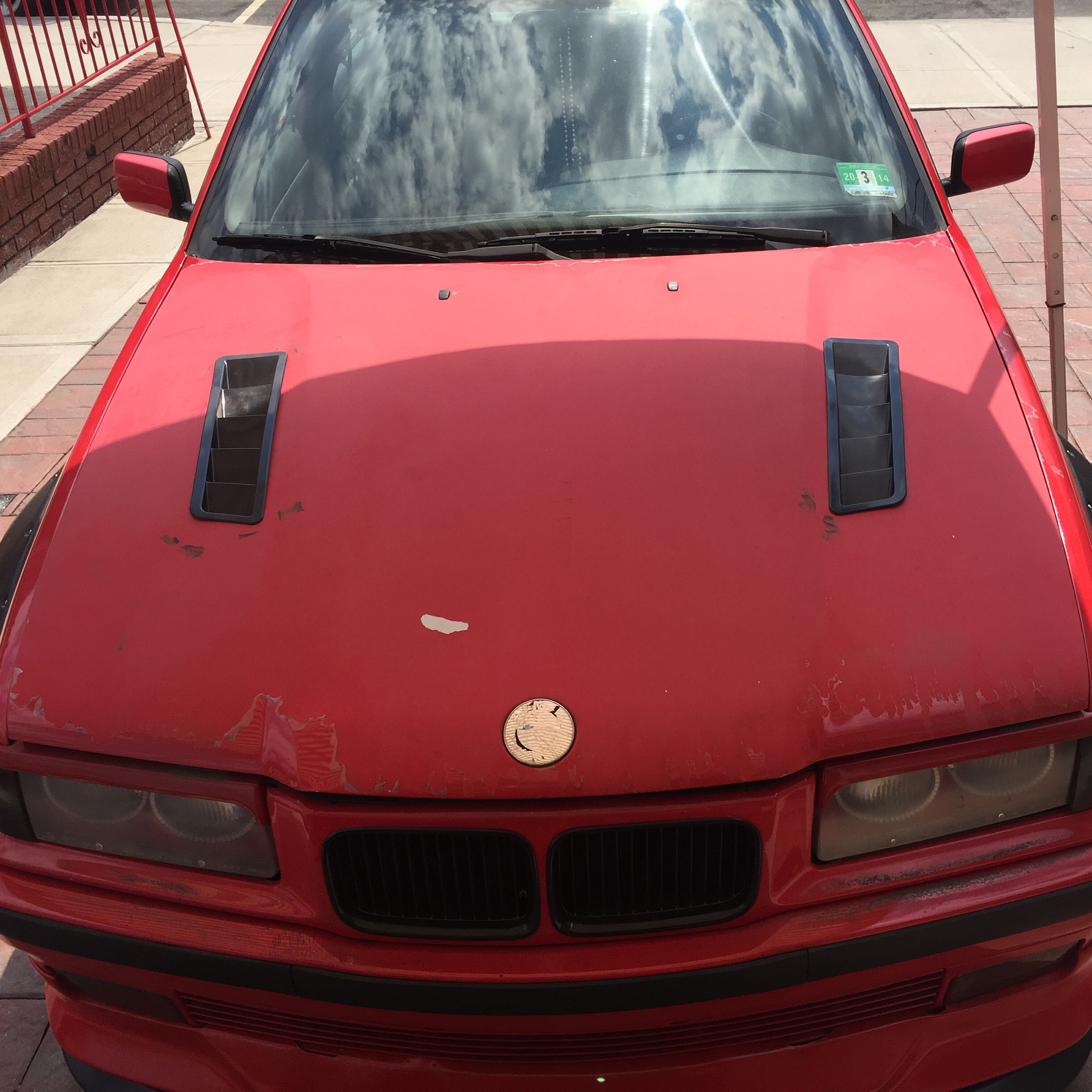 Custom Hood Louvers E36