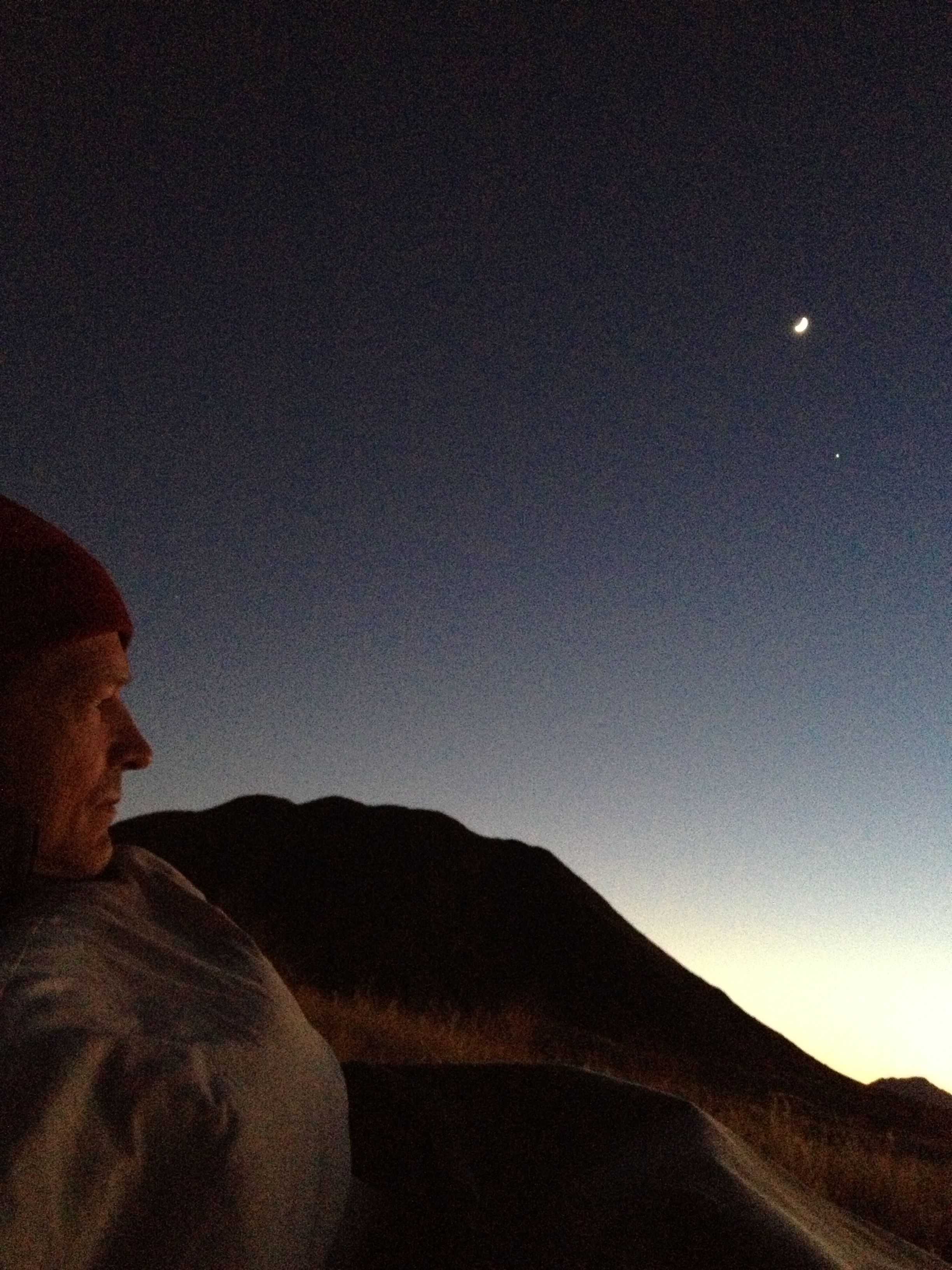 Dawn in the Namib. Photo by me.