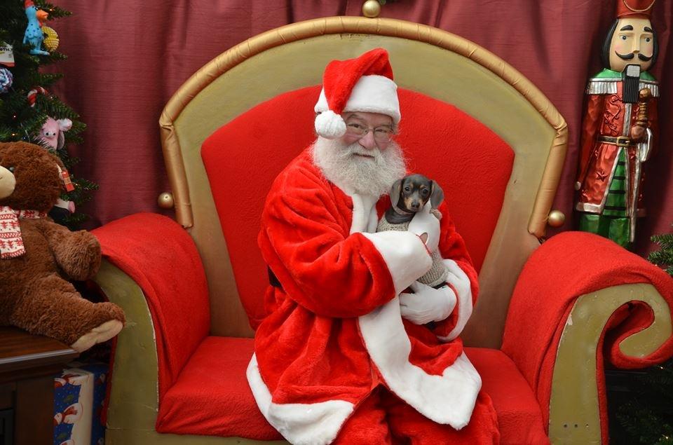 Biggie and Santa.JPG