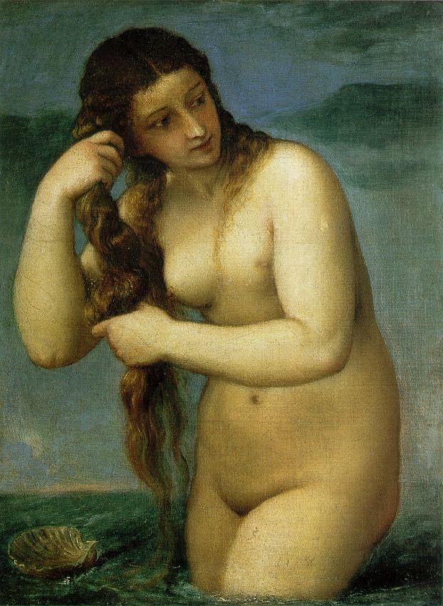 Titian, Venus Anadyomene