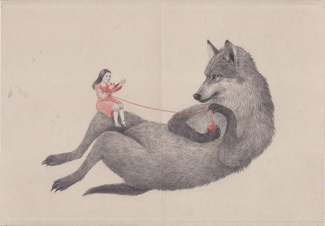 Illustration by Joanna Concejo.