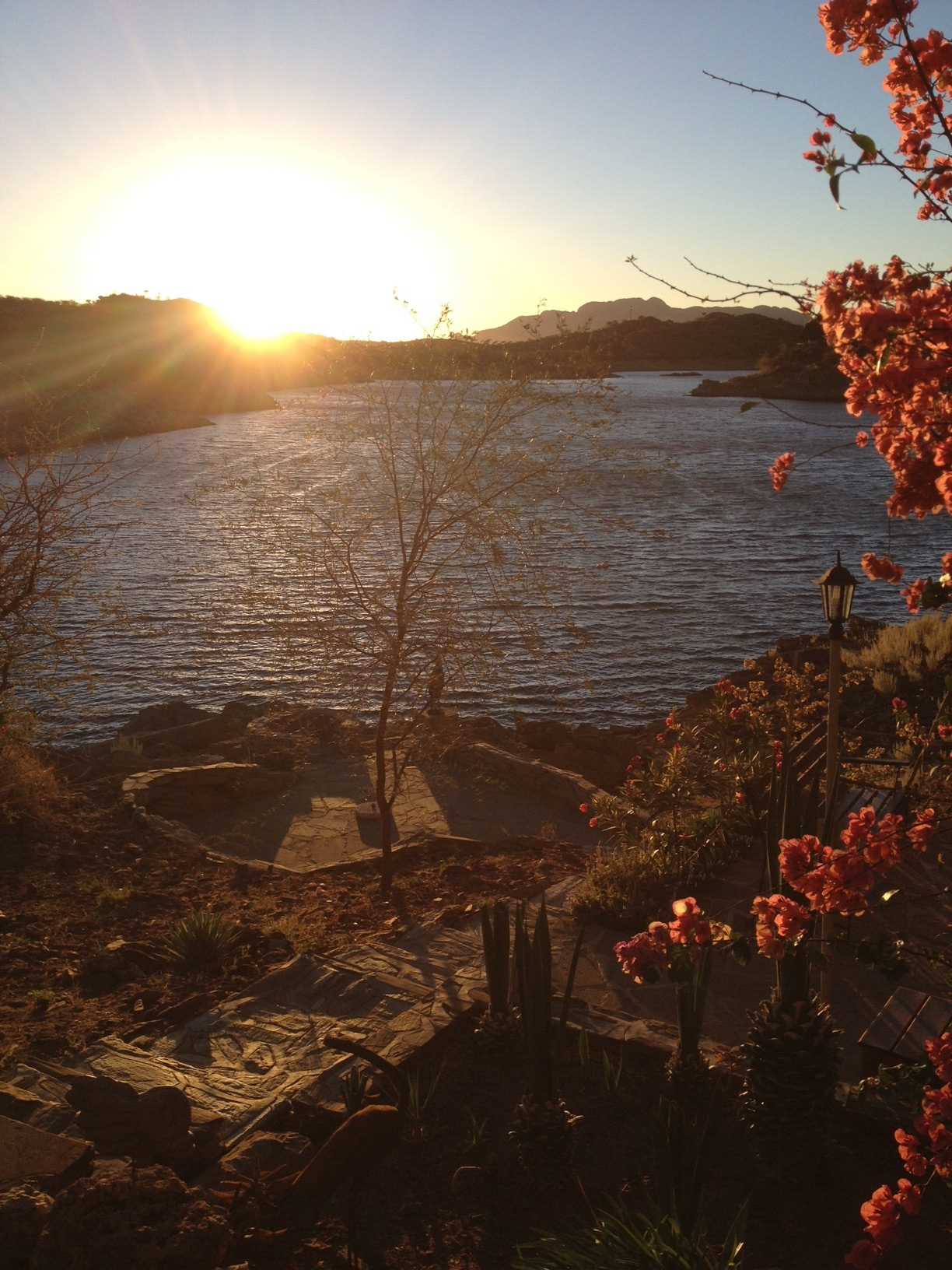 Lake Oanob, Namibia. Was there with Dad and Pete only a little more than a year ago.