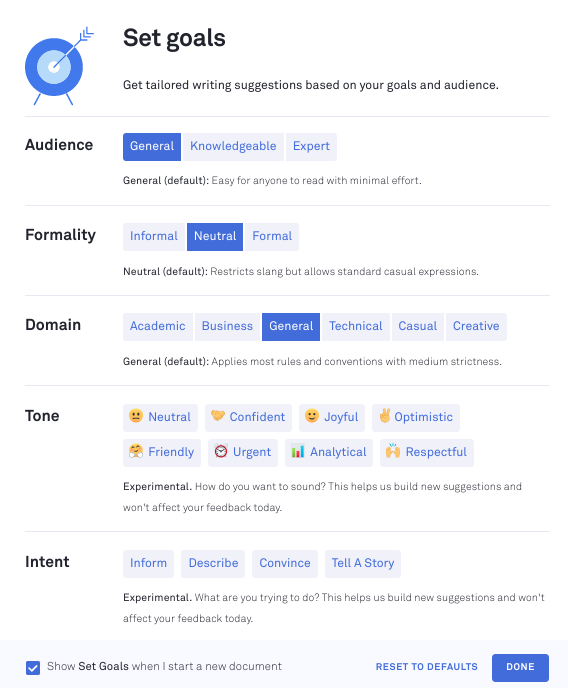 Grammarly Document Options.png