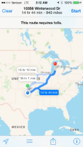 Just in to Oklahoma we find ourselves nearly 1,000 miles from home.