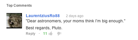 The quality of comments, however, still leaves something to be desired.
