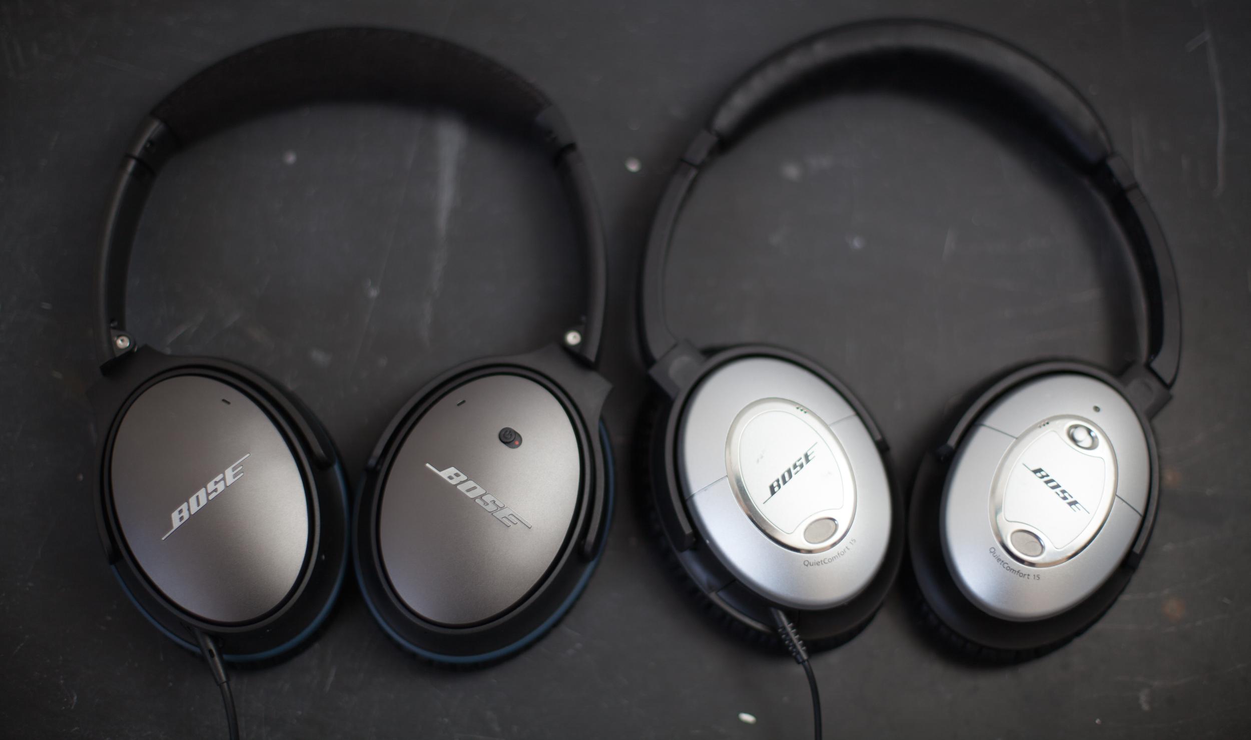 Bose Quiet Comfort 25 Noise-Canceling Headphones Review — CGP Grey