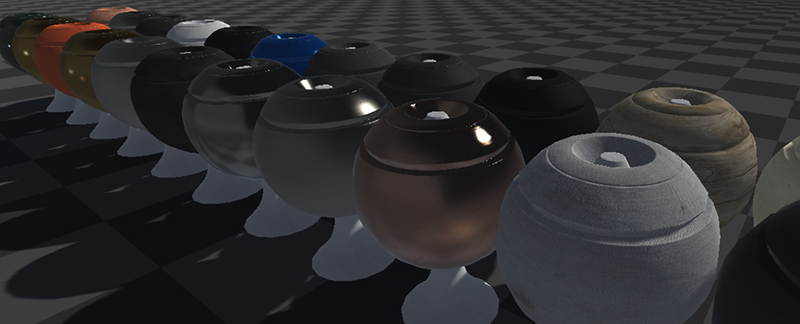 Making progress on our material previewer with Unity 5's new physically-based rendering