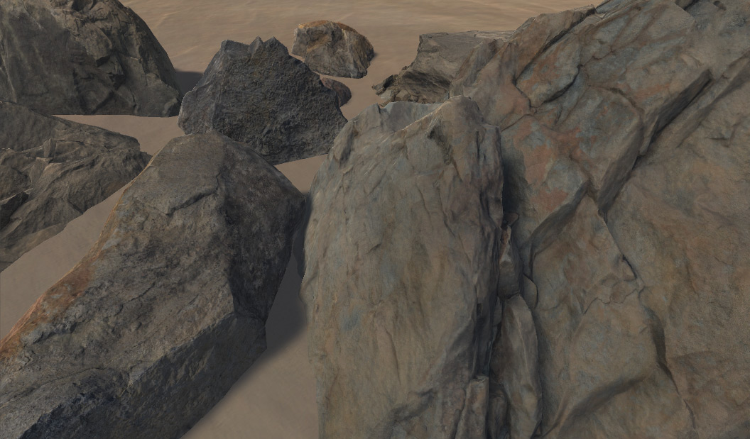 Lacuna Passage - Devlog #59 - New Cliffs and Rocks for
