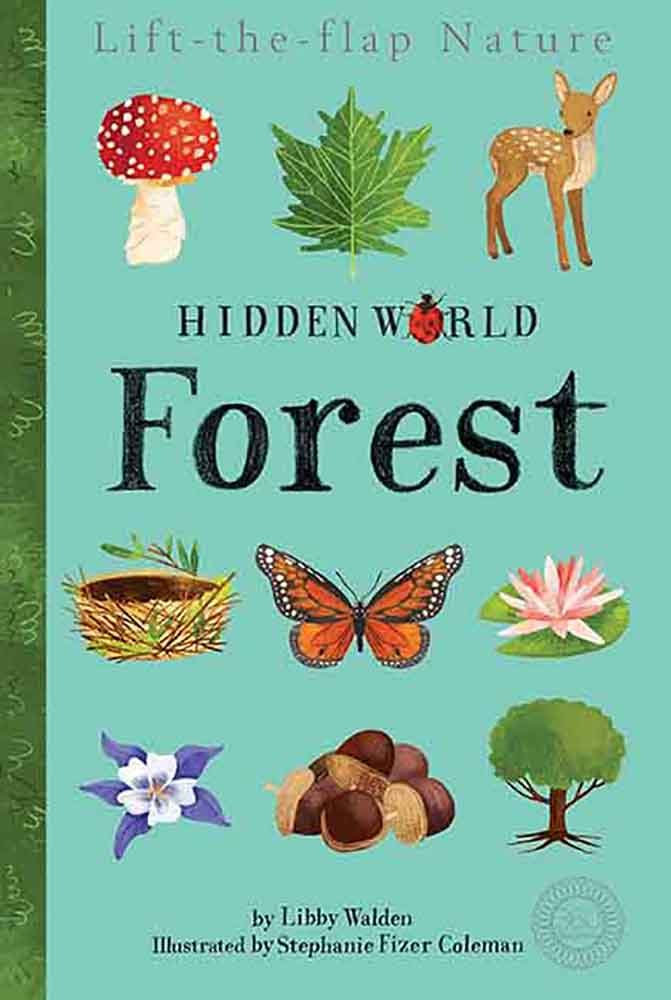 Hidden World: Forest - Caterpillar Books March 2018