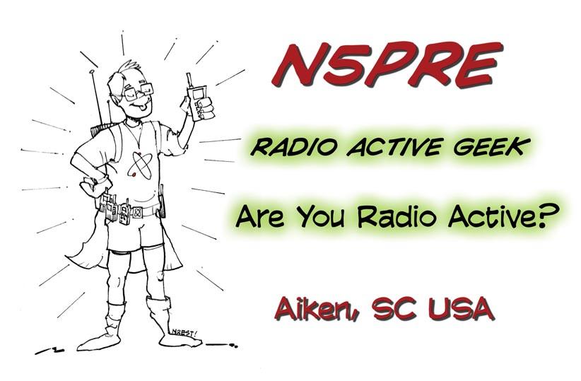 N5PRE QSL Card Design (Front)