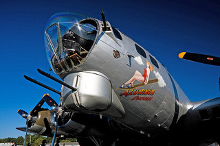 B-17 Aluminum Overlay by Kevin Trotman