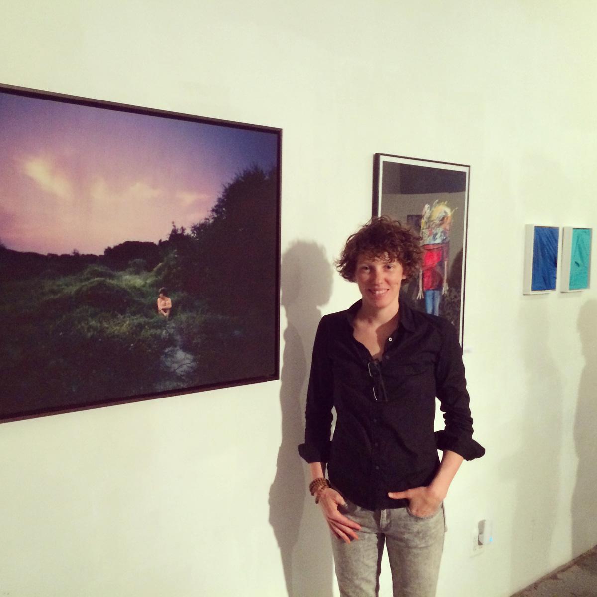 "My work in ""Identity"" show in Brooklyn."