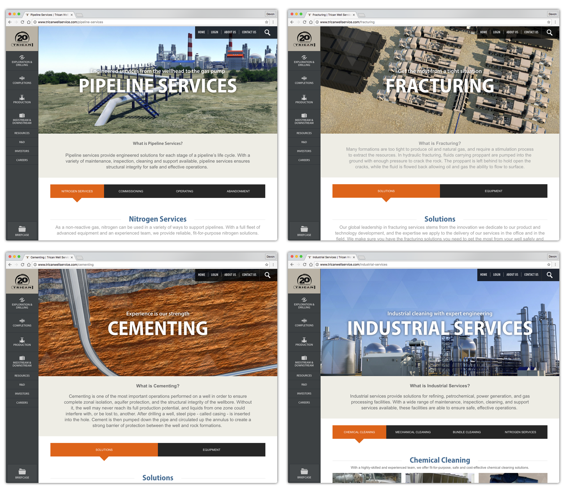 Trican_ServiceLinePages
