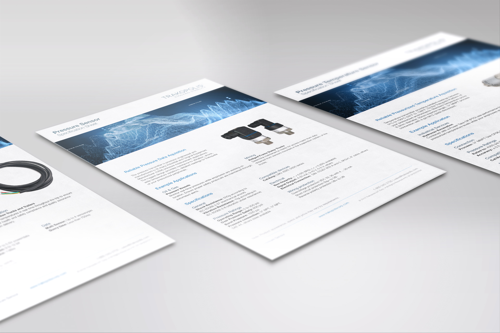 Technology Specification Sheets
