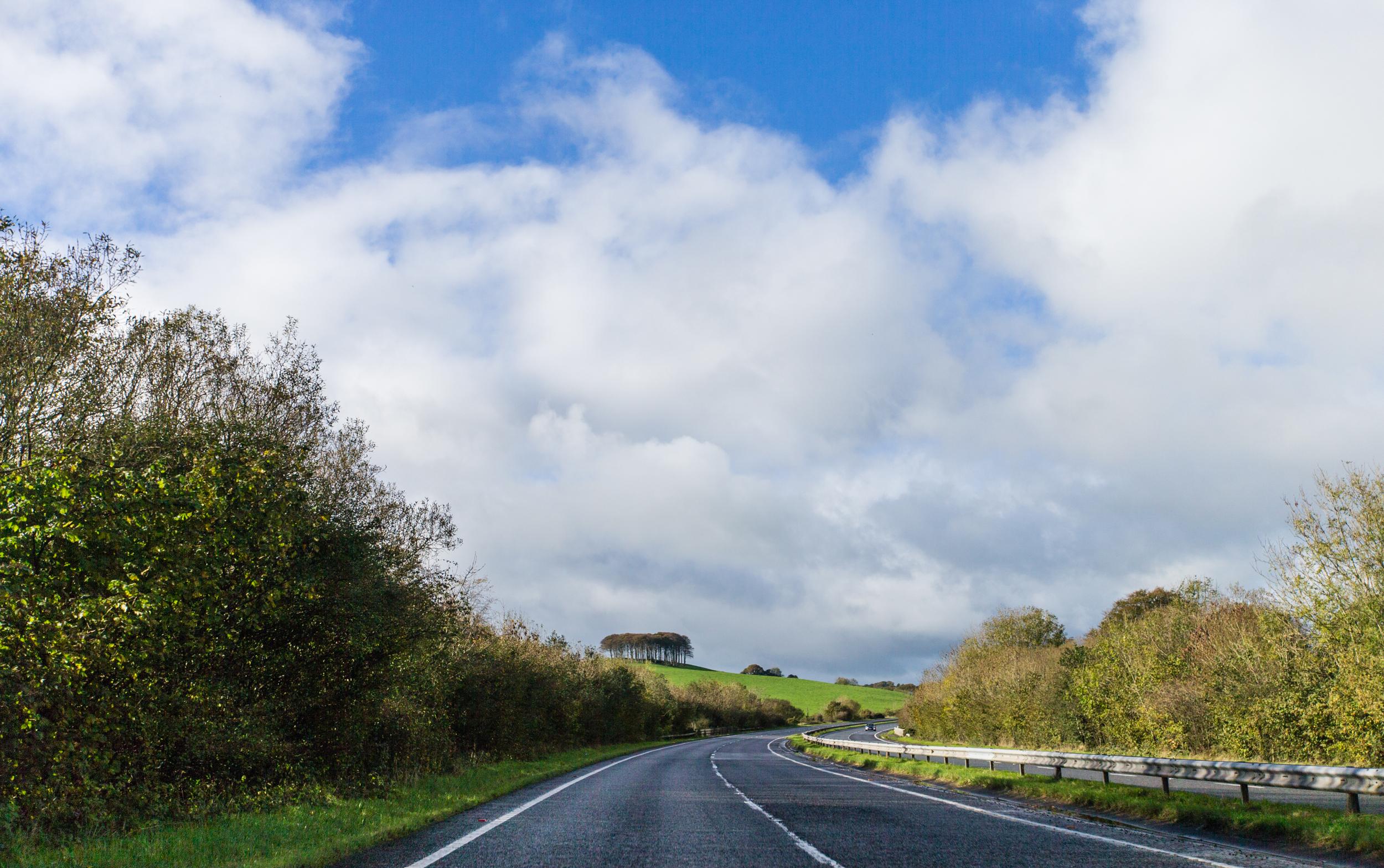 ©Jennifer Bailey 2013 A30 in Devon, West