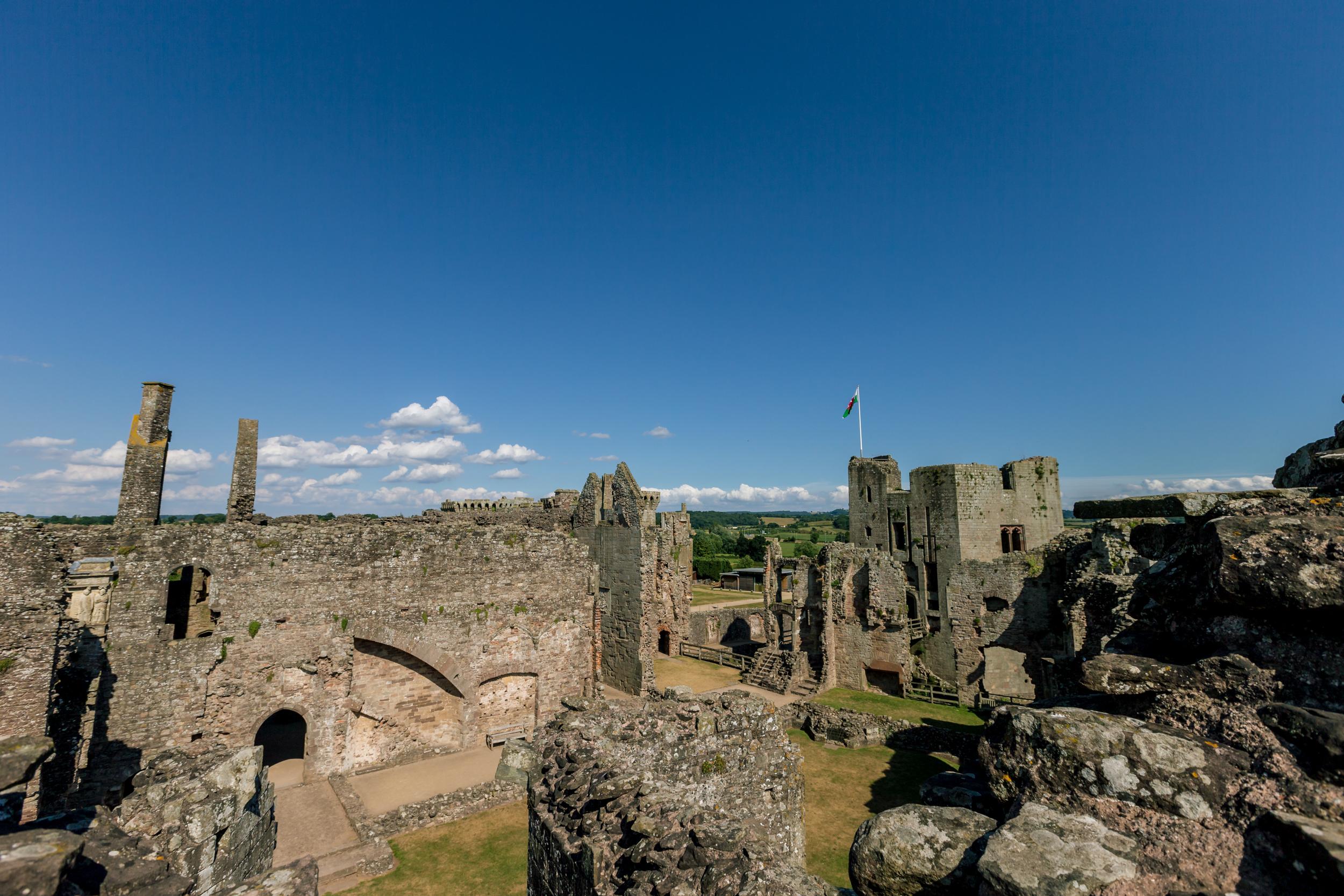©Jennifer Bailey 2013 Raglan Castle, Wales