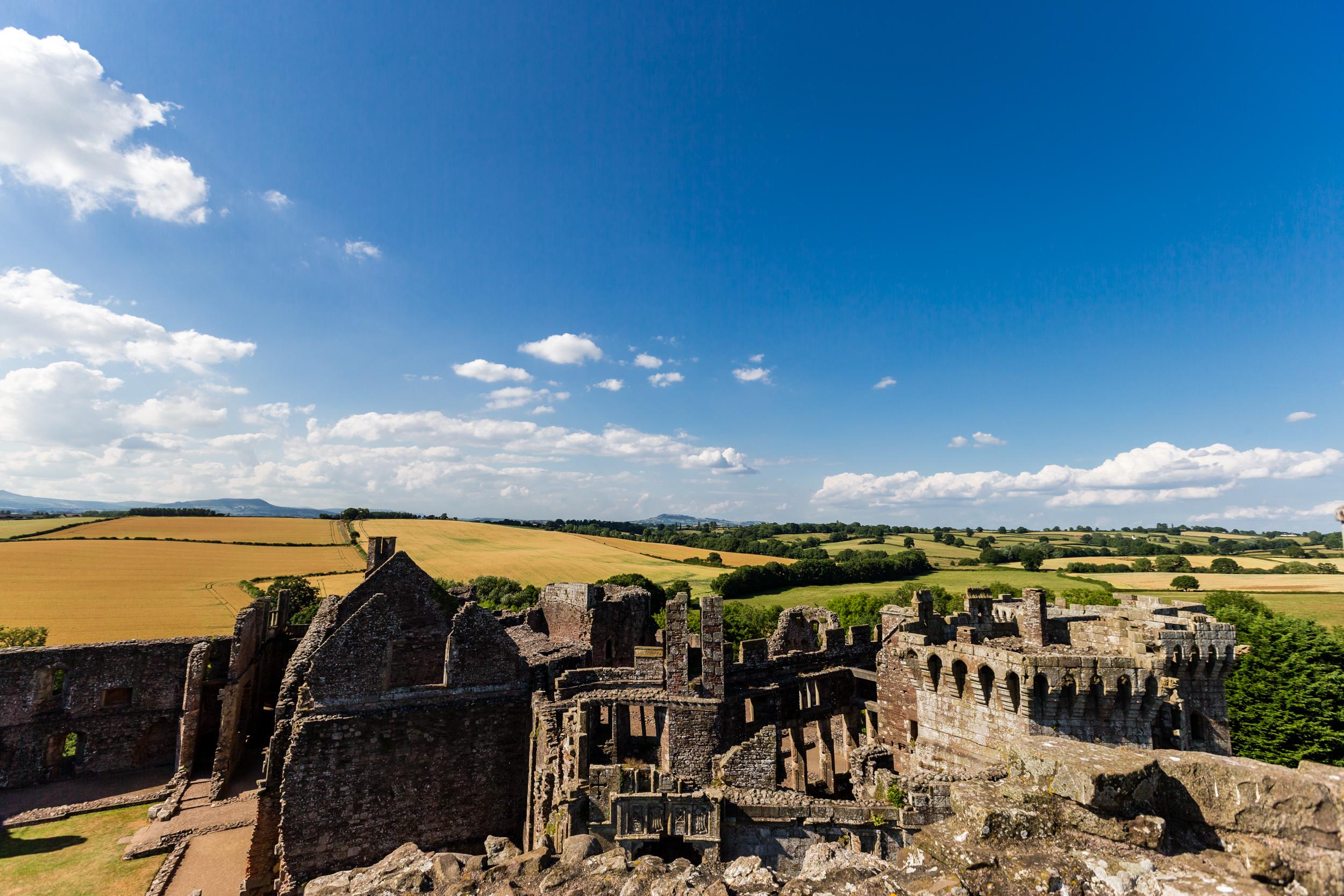 ©Jennifer Bailey 2013 Raglan, Castle, Wales