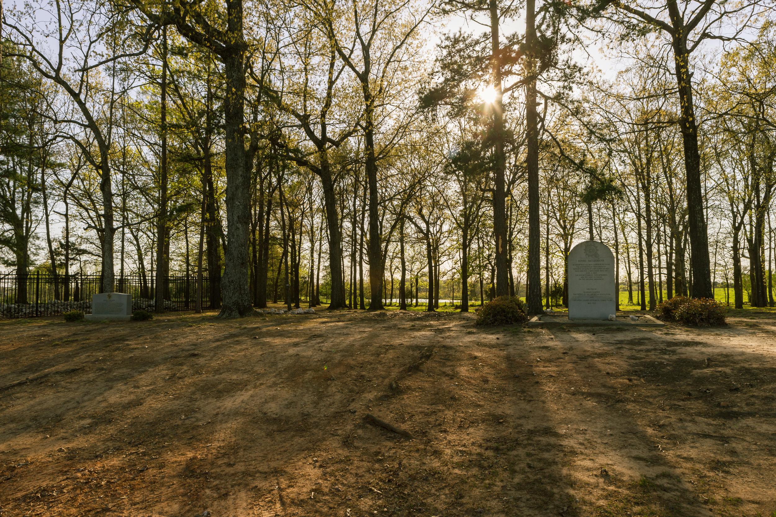 buford battleground massacre monument site